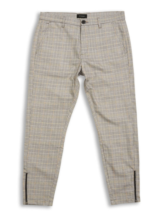 pisa chino yellow check gabba
