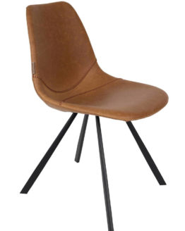 franky-chair-dutchbone-cognac