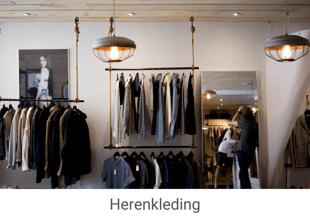 Herenkleding categorie