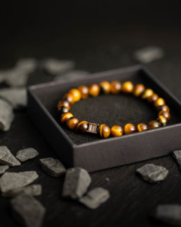Gem Gemini Tiger Eye Kralenarmband 1
