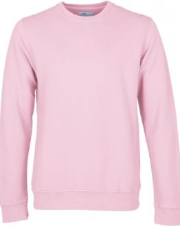 Colorful Standard sweater mannen flamingo pink